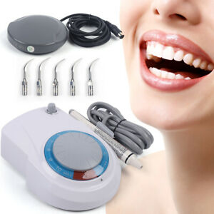 Dental Piezo Ultrasonic Scaler Dte D1 Fit Woodpecker Handpiece 5 Tips Set