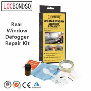 Locbondso Rear Window Defroster Grid Line Repair Kit Defogger Line Diy Repair