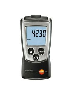 Testo 460 Rotate Speed Measuring Instrument Tester Digital Rpm Tachometer