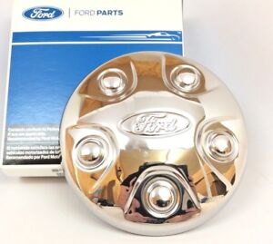 2013 2018 Ford Explorer Taurus Police Chrome Wheel Center Hub Cap Cover New Oem