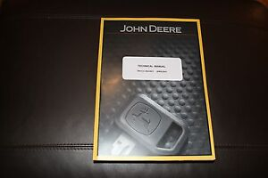 John Deere 410d 510d Backhoe Loader Service Operation Test Manual Tm1512