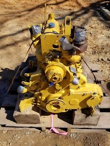 John Deere Model 4039 Complete 4 Cylinder Diesel Engine Good Used