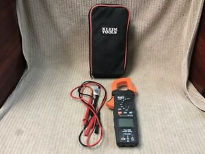 Klein Tools Trms Digital Clamp Meter Model Cl600 Good Condition Free Shipping