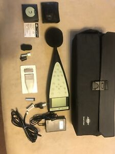 Sound Level Meter B k 2260 Includes 4231 Calibrator Power Supply zf0023 20db
