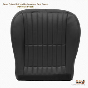 1999 2000 Chevy Camaro T tops Driver Bottom Perforated Leather Seat Cover Black