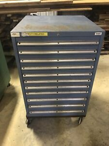 Lista Tool Cabinet With Casters 11 Drawers