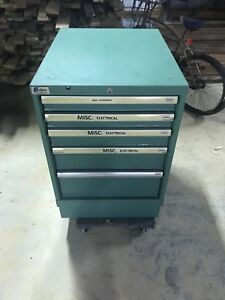 Lista 5 Drawer Industrial Tool Cabinet