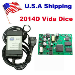 Usa Ship Low Cost 2014d Vida Dice Diagnostic Tool For Volvo With Vida All in one