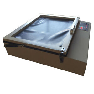 Tabletop Precise 16 X 20 Vacuum Uv Exposure Unit Screen Printing Machine