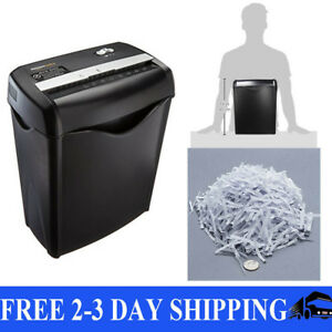 Commercial Office Shredder Paper Destroy Crosscut Heavy duty Cd Dvd