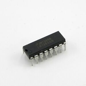 50pcs Lm13600n Dual Operational Transconductance Amplifiers Ic National Dip 16