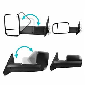 Power Heated Towing Mirrors For 2002 2008 Dodge Ram 1500 2003 2009 2500 3500