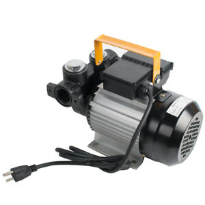 usa portable 110v Electric Diesel Oil And Fuel Transfer Extractor Pump filter