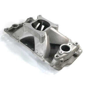 Renegade Intake Manifold 72031 Race Series Single Plane Satin Aluminum For Sbc