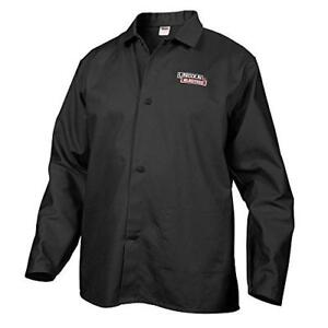 Lincoln Electric Black X large Flame resistant Cloth Welding Jacket
