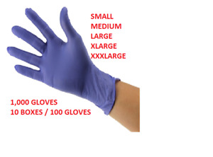 1000 Nitrile Medical Exam Gloves Powder Free All Sizes Close Out Deal