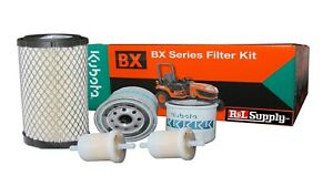 Kubota Bx Filter Maintenance Kit Bx24 Bx25d Dlb Bx1500 Bx1800 Oil Fuel Air Hyd