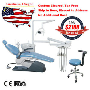 Dentist Dental Exam Patient Chair W Stool Operatory Usa Free Shipping To Door