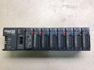 Koyo Direct Logic 205 Complete Rack H2 ebc D2 16nd3 2 f2 08trs D2 16td1 2