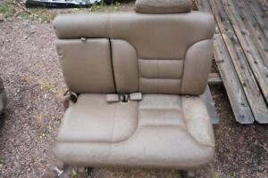Oem Chevrolet Tan Beige Left Center 2nd Row Seat 95 99 Suburban Tahoe