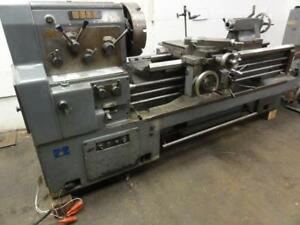 Nice Webb 20 1 2gx60 Gap Bed Engine Lathe 21 x60 29 Gap Whacheon 10hp