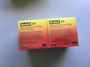 Scotch 69 Cloth Tape Box Of 10