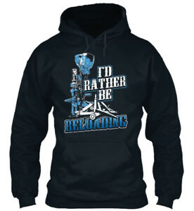 Id Rather Be Reloading Dillon Press I#x27;d Standard College Hoodie GBP 29.99