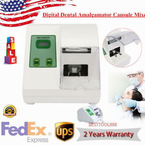 Digital Dental Lab G5 Amalgamator Capsule Mixer Blender Amalgam Fast Speed Hl ah
