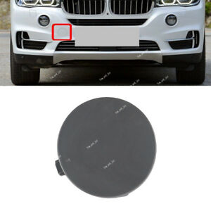 51117378591 For Bmw F15 X5 13 14 Front Bumper Tow Hook Eye Cover Cap Primed
