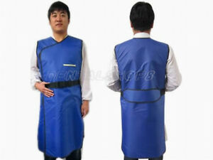 Sanyi Super flexible X ray Protection Protective Lead Vest 0 35mmpb Blue M Vip