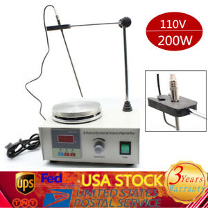 Heating Hot Plate Hotplate Magnetic Stirring Stirrer Mixer Heater Fast Shipping