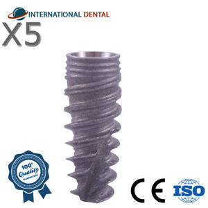 5 Conical Implant rp For Nobel Biocare Active Hex Dental Implants