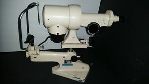 Bausch Lomb B l Keratometer Ophthalmometer 71 21 35 Cream Color