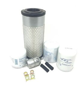 Kubota Rtv1140cpx W d1105 e3 Engine Filter Maintenance Kit