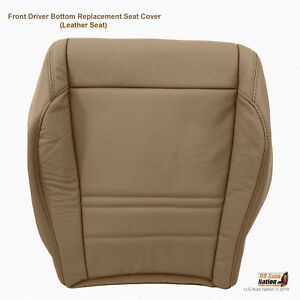 1999 200 Ford Explorer Xlt 4 Door Driver Bottom Replacement Leather Cover Tan