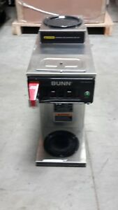 Used Bunn Cwtf15 1l 1u 2 Burner Coffee Brewer For Decanters