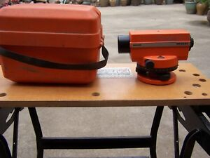 Wild Heerbrugg Na20 Leveling Instrument Used Free Ship