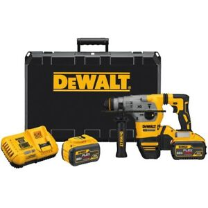 Dewalt Dch293x2 20 volt 1 1 8 inch 9 0 Ah Xr Brushless Sds Max Rotary Hammer Kit