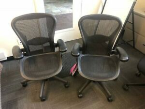 Over 100 Herman Miller Aeron Chairs