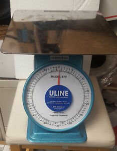 70lb Professional Mechanical Weight Scale Uline Model 870