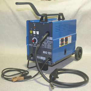 Chicago Electric Mig 151 Welding 230v 120amp Flux Wire Welder Free Shipping 26kg