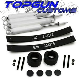 For 84 01 Jeep Cherokee Xj 3 Front 2 Rear Aal Full Lift Leveling Kit W Shocks