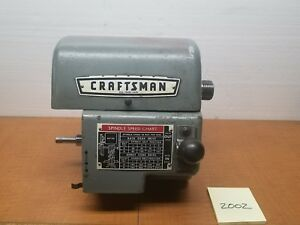 Atlas Craftsman Lathe 12 Headstock 990 328 Under Drive Excellent Condition