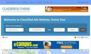 Classifieds Listing Directory Website For Sale Hosting Included