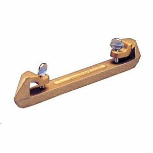 Kraft Tool Concrete Bull Float Bronze Groover Attachment