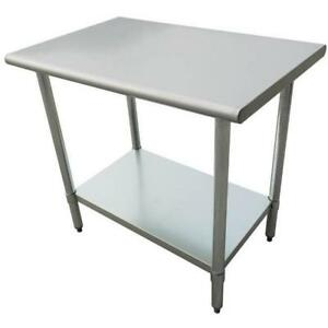 Stainless Steel Work Prep Table 24 X 24 Heavy Duty