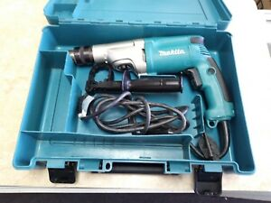 Makita Hp2050 3 4 Corded Hammer Drill Pre owned W Case