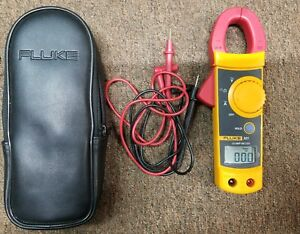 Fluke 321 Clamp Meter With Leads And Case B x