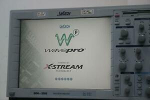 Lecroy Dda 3000 Disk Drive Analyzer Oscilloscope W Memory Option Xl