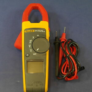 Fluke 373 Trms Clamp Meter Good Condition